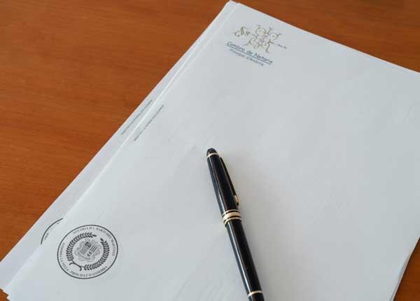 Actes notarials